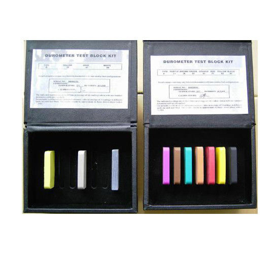 Hardness test block for durometer shore A shore D  durometer test block Kit Shore A Hardness Block