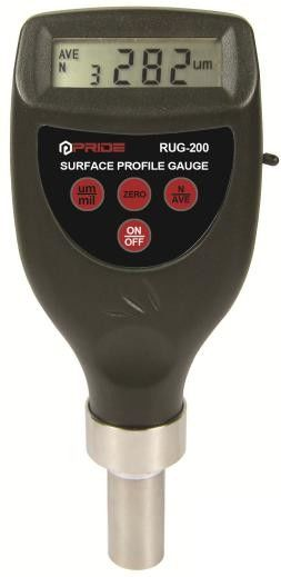 280g 5μM Accuracy Digital Surface Profile Gauge RUG - 200 With Data Output